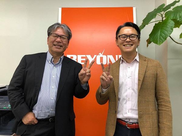 日本支援助言士協会の常務理事である佐藤氏と弊社代表の仁藤が対談を行いました